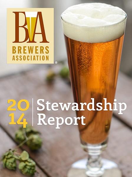 2014 Brewers Association Stewardship Report