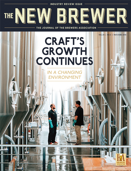 Current Issue Of The New Brewer Magazine Brewers Association