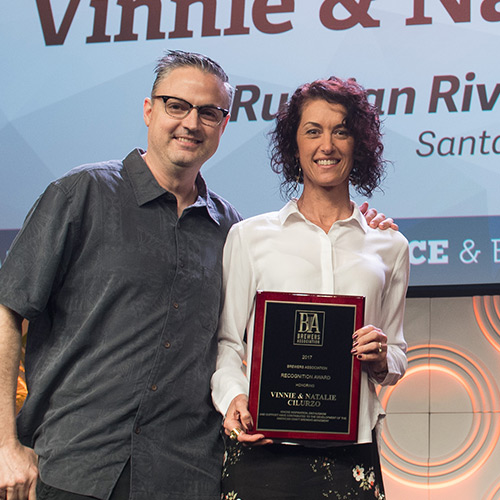 Vinnie & Natalie Cilurzo