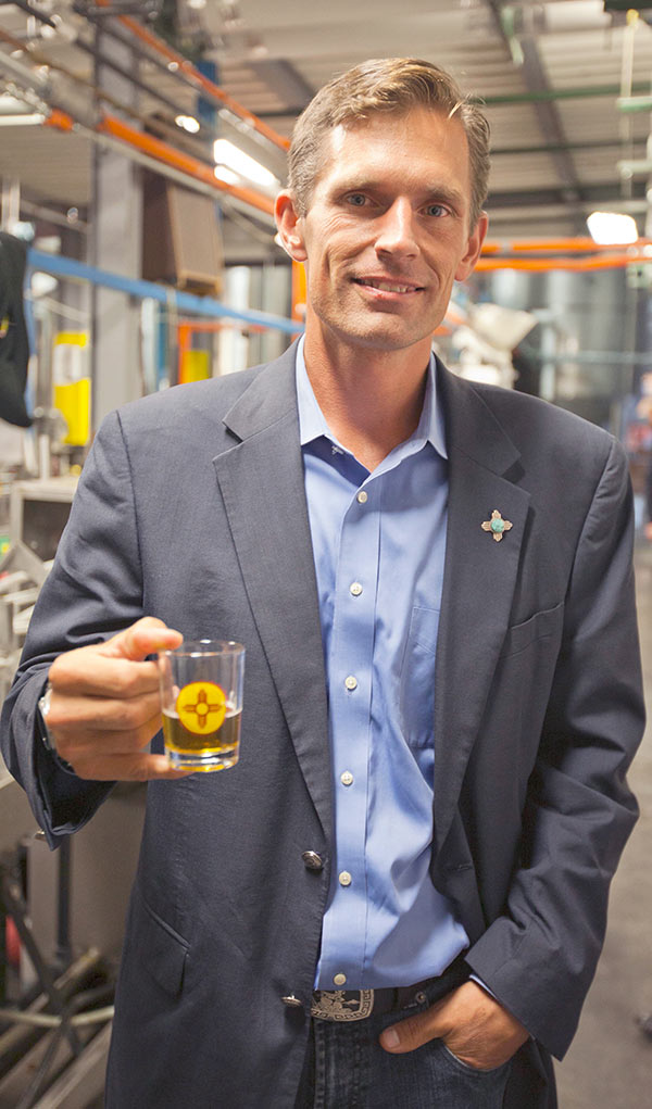 Small Brewery Supporter Senator Martin Heinrich Visits