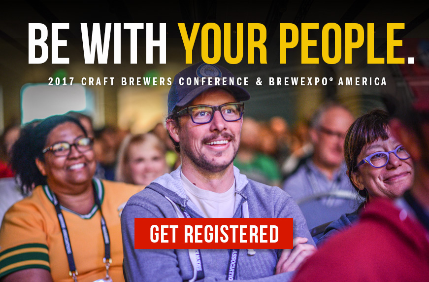 Craft Brewers Conference. Be with your people.